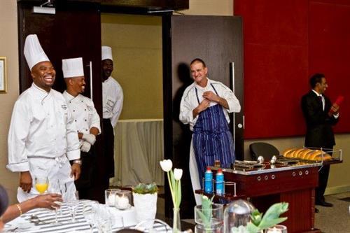 Benny Masekwameng - Tsogo Sun Celebrity Chef