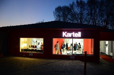 The launch of Kartell's flagship store