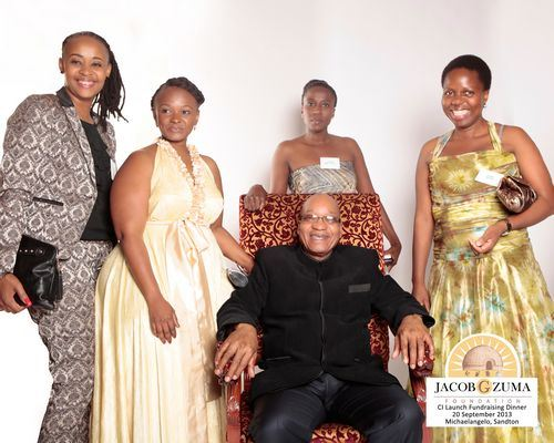 Jacob G. Zuma Foundation corporate identity launch and fund raising dinner