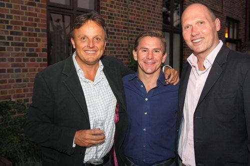 L:R Andy Sutcliffe, Adrian Hewlett, Rowan Belchers