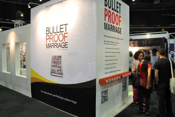 'Bulletproof Marriage: Your shield against divorce' at the Wedding Expo