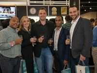 From left to right: Nick Cloete, Chantelle Smith, Jeff Green (Distiller of Bain's Cape Mountain Whisky), Prakash Nair, Peter Kohloffel