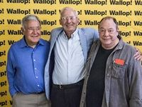 The Wallop! book launch