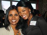 Ashika Pillay with her mentee Lerato Herbert