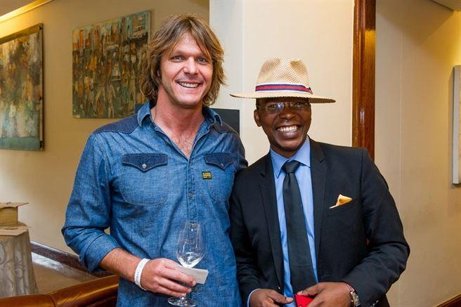 1 Miles Mosop, Luvo Ntezo lr - Nedbank Cape Winemakers Guild Auction