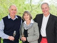 Etienne & Marcelle Le Riche and Rainer Kloos - Nedbank Cape Winemakers Guild Auction