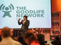 Event MC and Goodlife Network's Healthbusters presenter Joey Rasdien