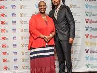 Dr Sindi van Zyl and Mthetho Tshemese (Village Shrink host)
