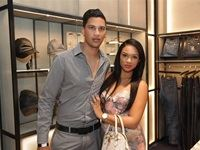 Abigail Visagie and Partner - Billionaire Italian Couture Store Launch