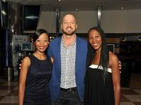 Nobahle Setlogelo (Cinemark), Eric Blignaut (Cinemark) and Yvonne Diogo (Cinemark)