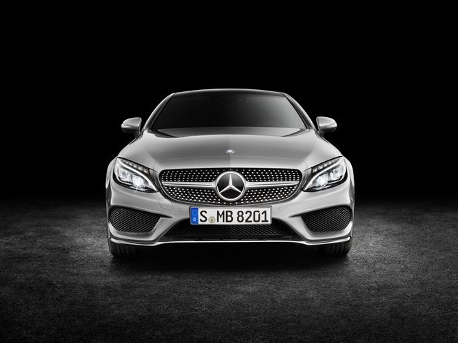 The new Mercedes C-Class Coupé