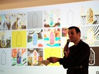 Andy Sandoz, D&AD president and joint executive creative director of Havas Worldwide - D&AD judging day two