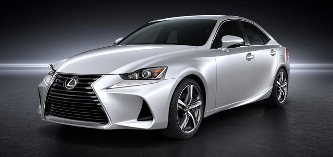 New Lexus IS revealed at Beijing Motor Show