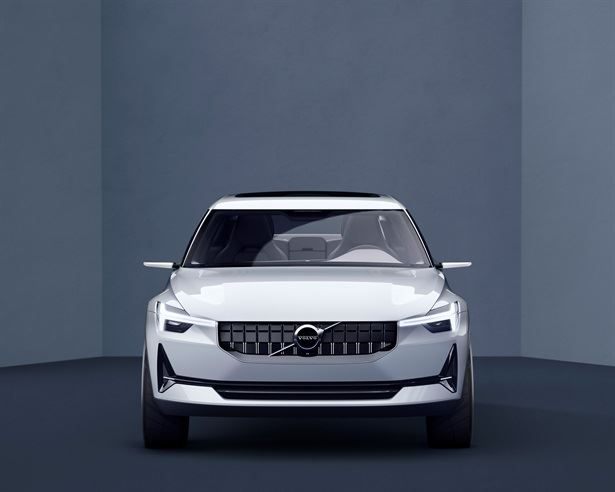 First look at new compact cars from Volvo