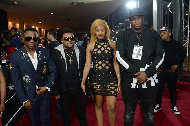 Red Carpet at the 2016 SAMAs