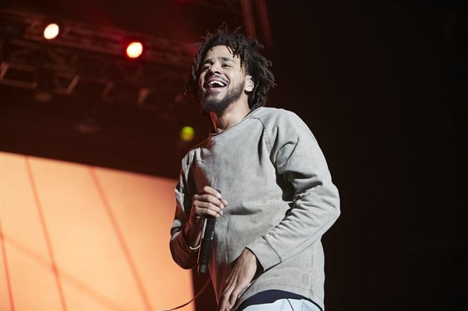 The Castle Lite Unlocks J.Cole concert