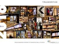 Branding for Truworths at The Mall of Africa by Clarion