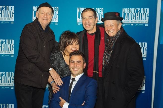 Nobody's Died Laughing premiere