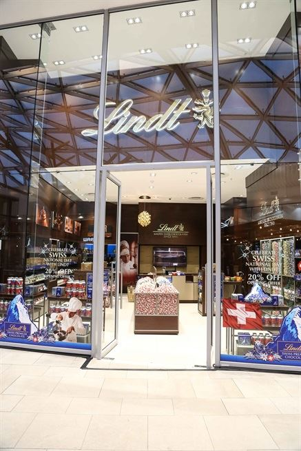 Lindt Chocolate Boutique opens at Mall of Africa