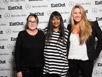 Abigail Donnelly of Eat Out, Theshni Chellan of Mercedes-Benz and Aileen Lamb of Eat Out