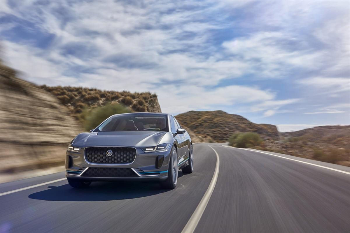 Electric Jaguar I-Pace concept