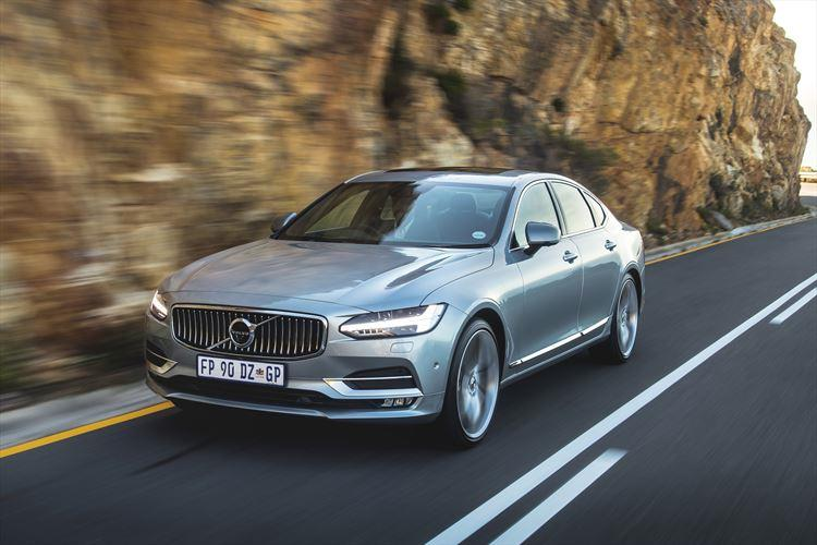 New Volvo S90 makes South African debut