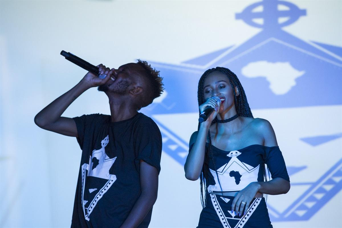 Kwesta video launch