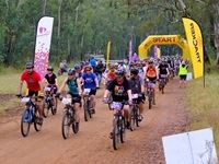 At the start of the 50 km race