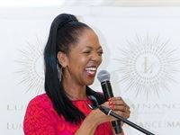Terry Pheto honoured at Luminance's Mother's Day celebrations