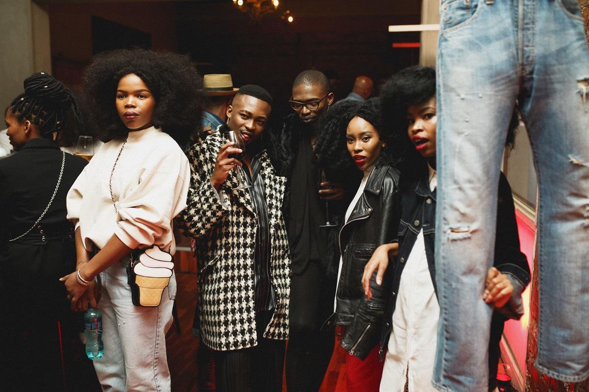 1Nwabisa Ntlokwana, Fela Gucci, Desire Marea, Shelley Mokoena & Keneilwe Mothoa