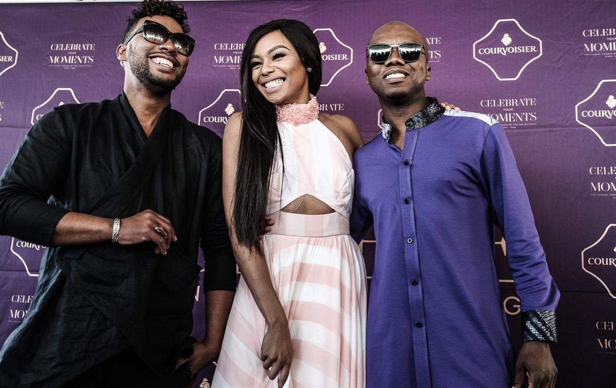 1Courvoisier Yacht Experience (6)_ Lumieres David Tlale, Bonang Matheba and Tbo Touch