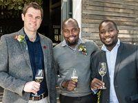 Kobie Lochner, John Chishimba and Prosper Gundura