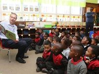GrandWest donates books, reading corners