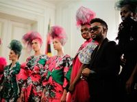Paris style elite welcomes David Tlale
