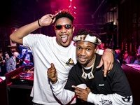 DJ Speedsta and Scoop Makhathini