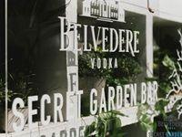 Belvedere Secret Garden Bar launch