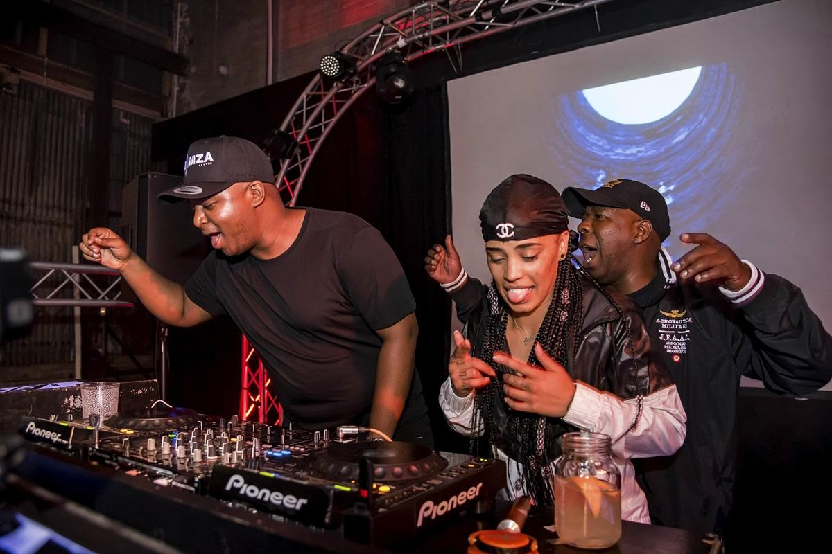 1DJ Shimza and Tarryn Alberts