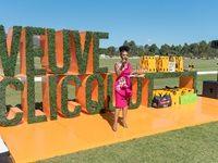 Nomzamo Mbatha hosting the Veuve Clicquot Masters Polo 2018
